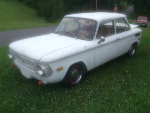 1970 nsu 1200 strange car of the week vintage werkes
