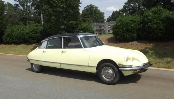 1970 Citroën DS21 in South Carolina | Vintage Werkes
