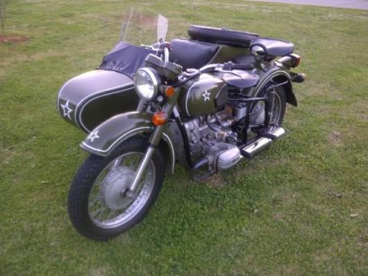 sidecar 2wd dnepr motorcycle craigslist military 1962 motorcycles atlanta