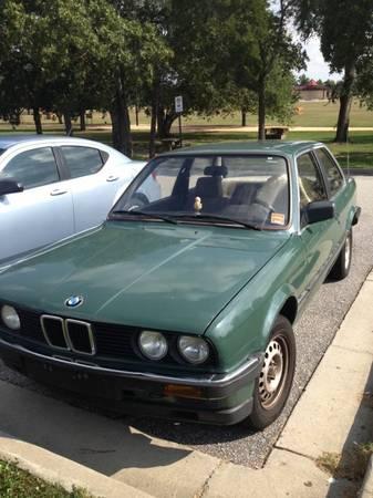 Grey Market 85 Bmw E30 In Augusta Ga Vintage Werkes