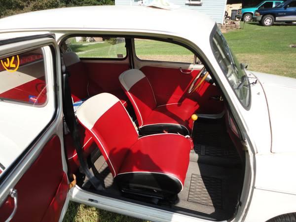 1961 Fiat 600 in Charlotte, NC | Vintage Werkes
