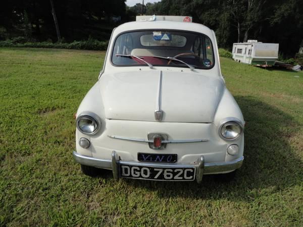 1961 Fiat 600 in Charlotte NC