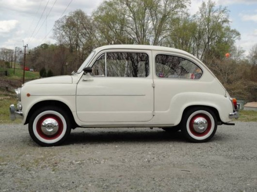1961 fiat 600 in charlotte nc vintage werkes. Black Bedroom Furniture Sets. Home Design Ideas