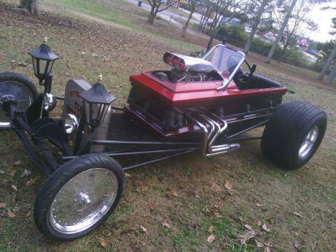 Outrageous Hot Rod of the Day: 1923 Ford T-bucket Casket ...