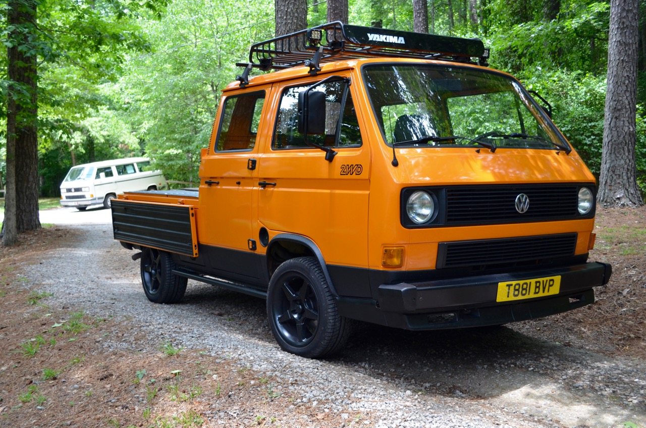 Rare for Over Here: 1984 Volkswagen Transporter DOKA Pickup | Vintage Werkes